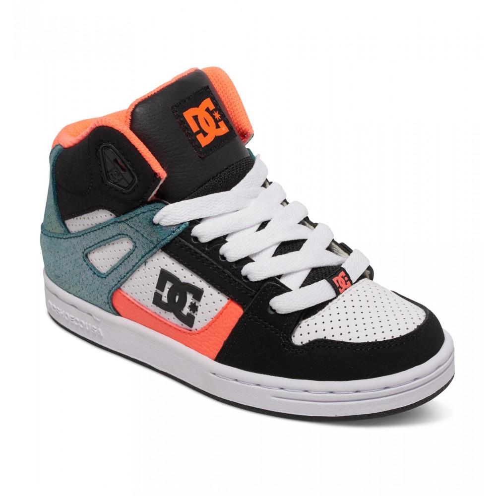 Kids 4-9 Rebound SE High Shoe 303310A DC
