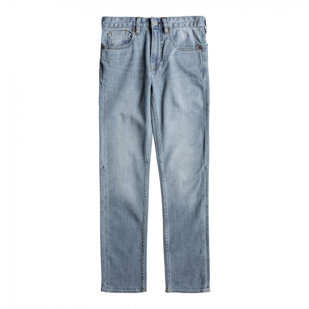 Teen 10-16 Worker Slim Light Indigo Denim Jean EDBDP03043 DC Shoes