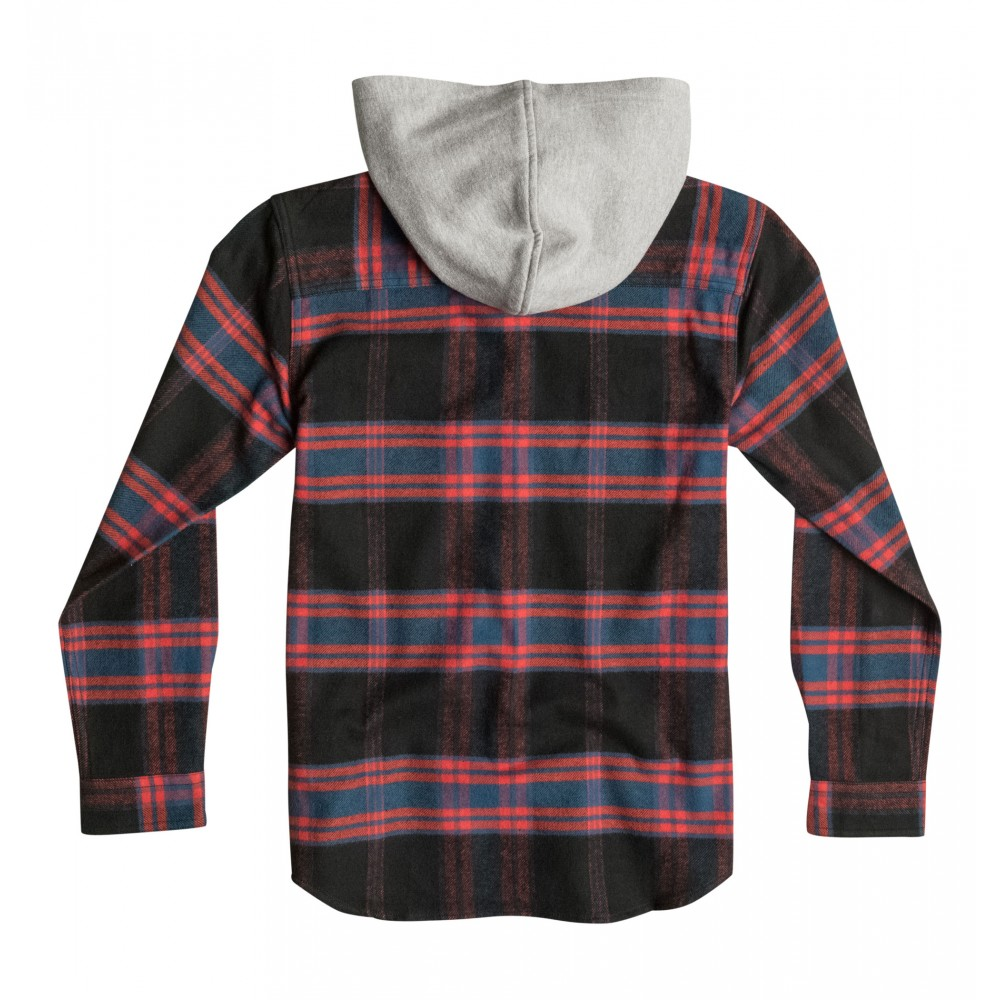 Teen Hood Up Long Sleeve Shirt EDBWT03006 DC