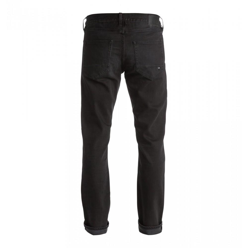 Mens Washed Straight Jean - Dark Grey EDYDP03264 DC Shoes