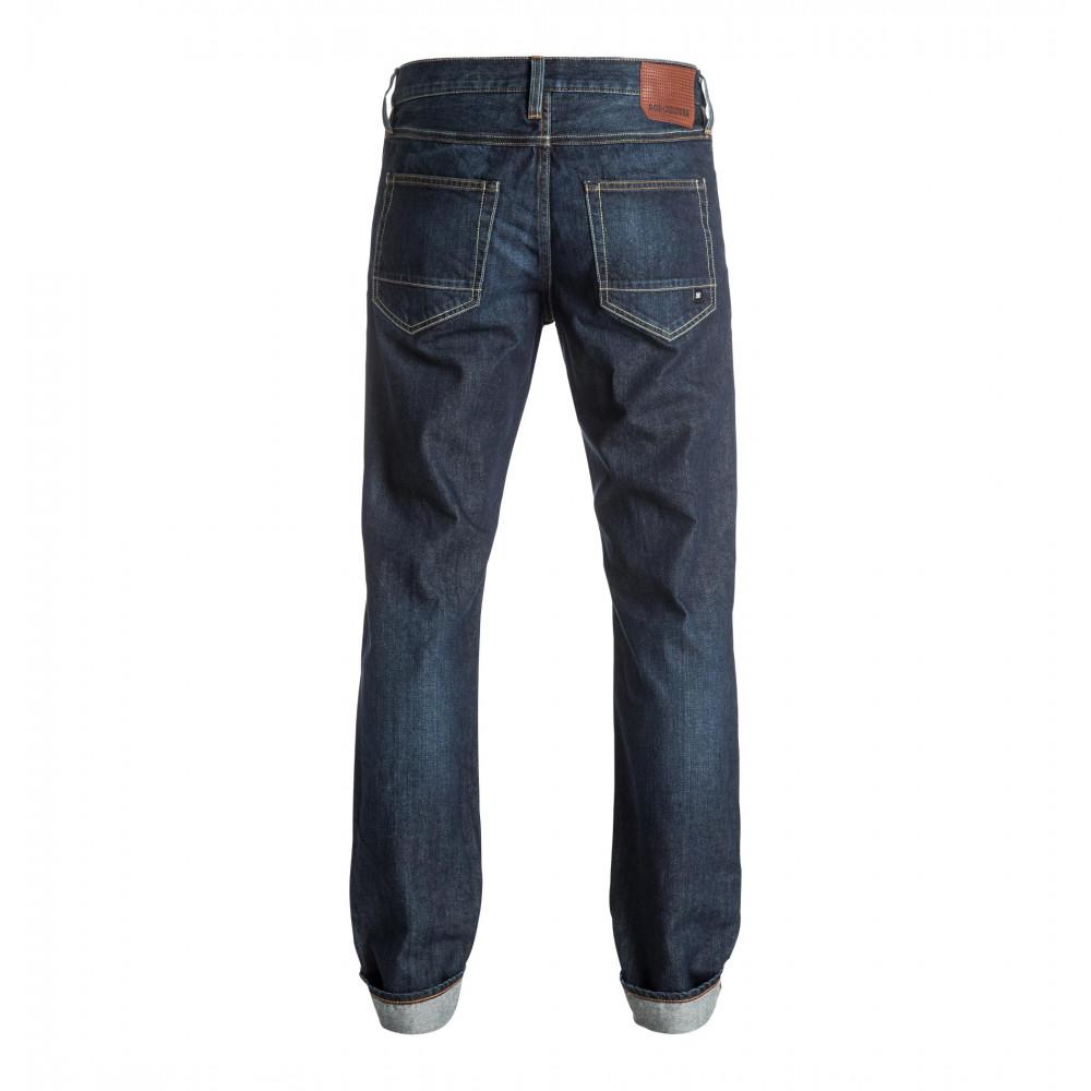 Mens Worker Straight Stone Wash Jean EDYDP03297 DC