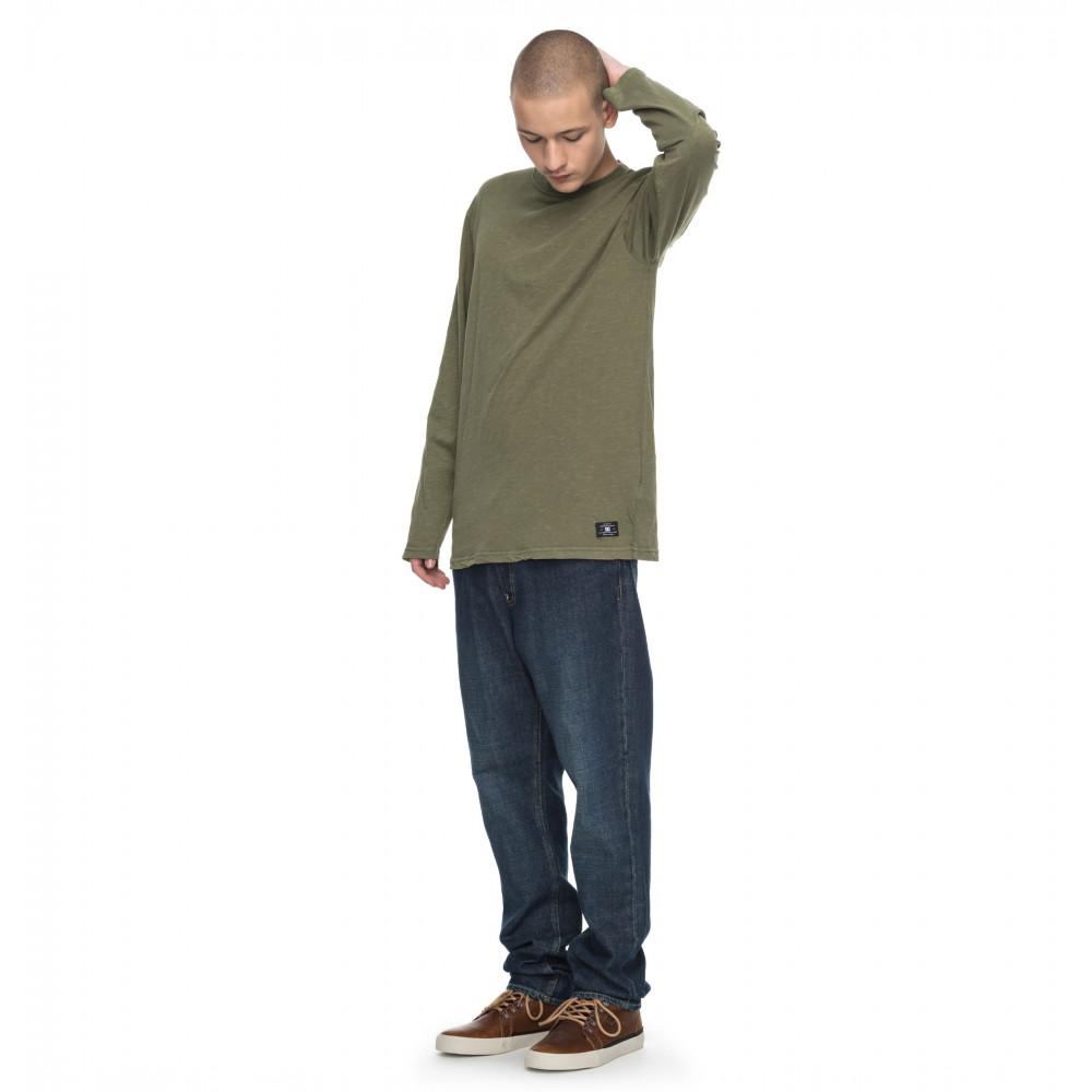 Mens Ohlen Long Sleeve T Shirt EDYKT03350 DC Shoes