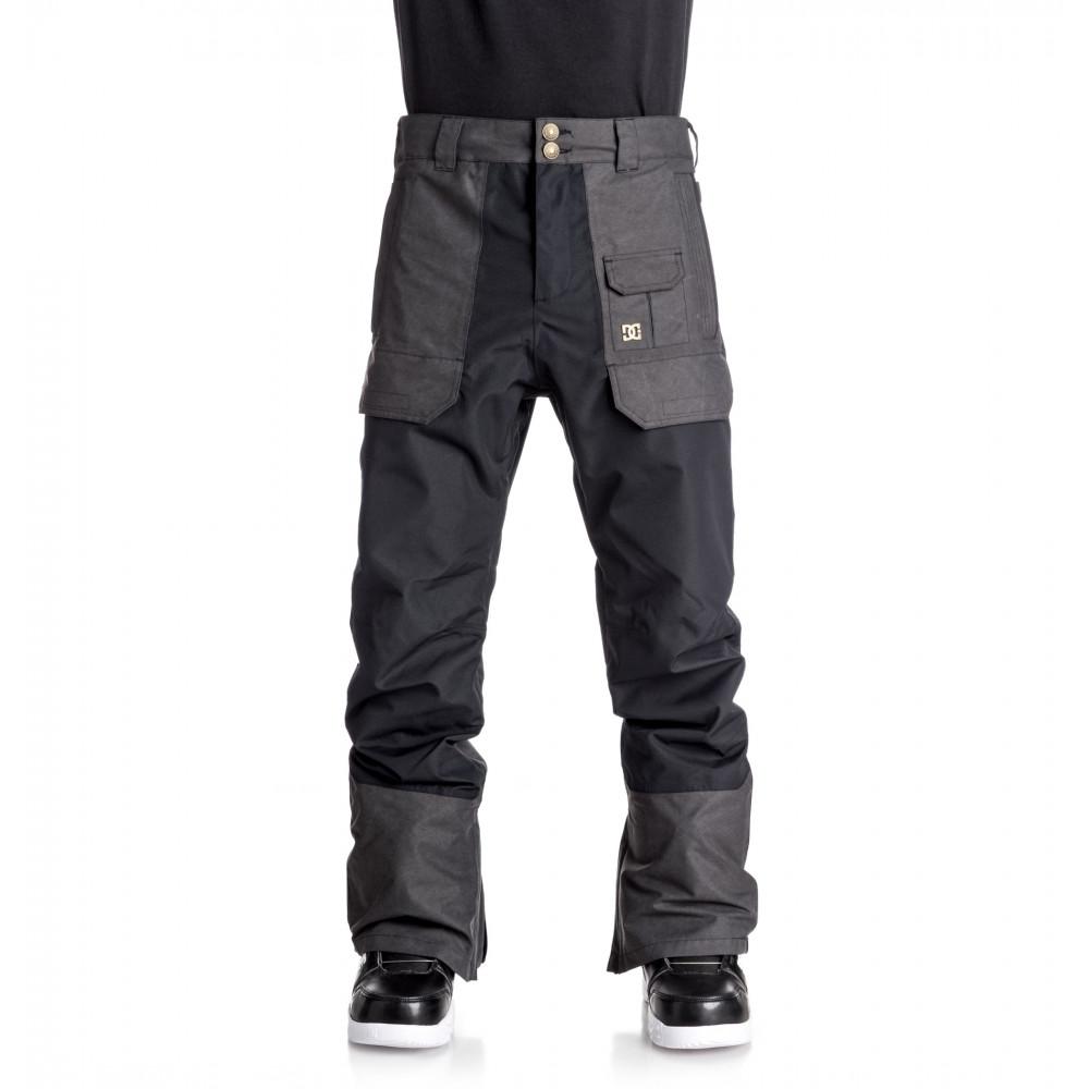 Mens Asylum 15K Snow Pant EDYTP03024 DC Shoes