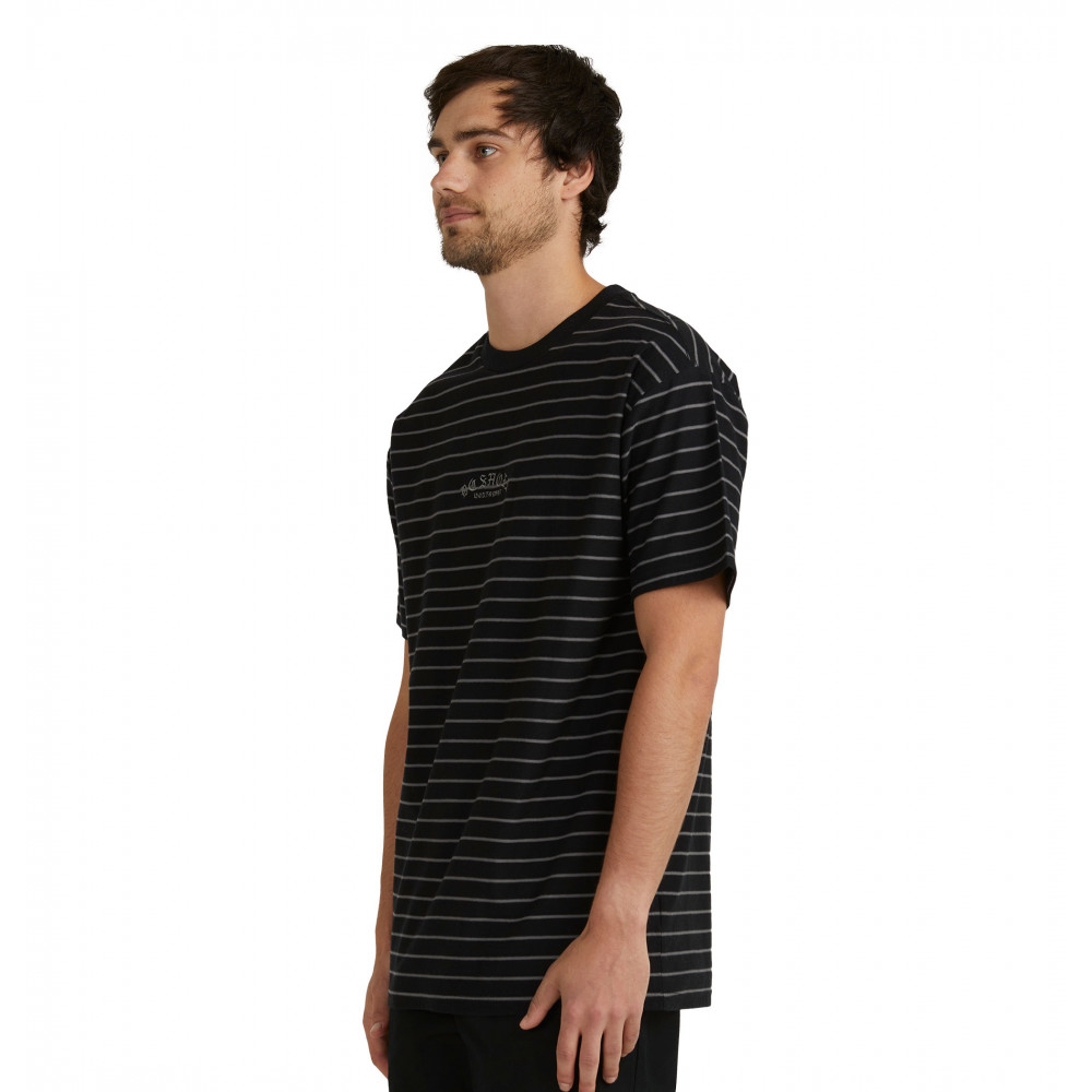 Men Dialled Stripe Ss Tee Tee UDYKT03074 DC Shoes