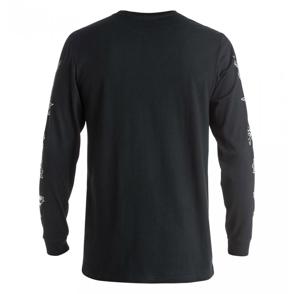 UDYZT03215 Mens Blaster Long Sleeve T Shirt DC