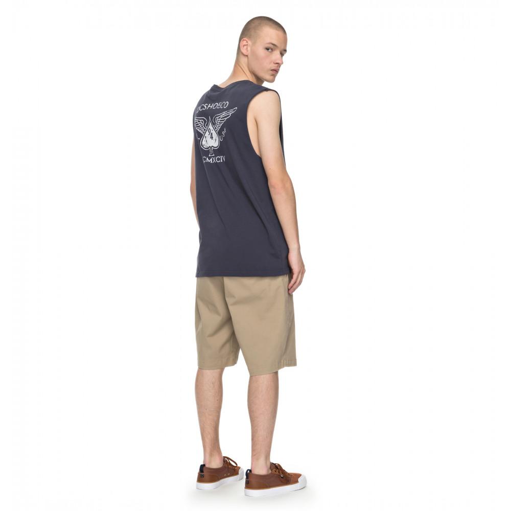 Mens Justice T Shirt UDYZT03411 DC Shoes