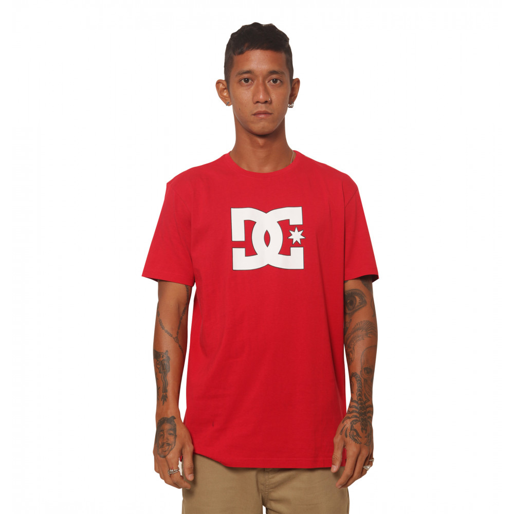 Men STAR HERITAGE SS ID Screen Tee UDYZT03885 DC Shoes