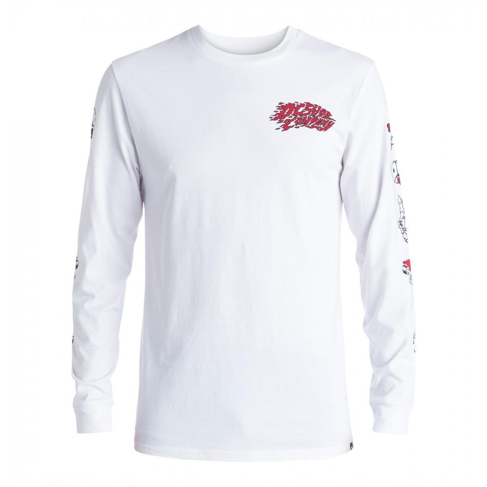 Mens Flash Tats Long Sleeve T Shirt